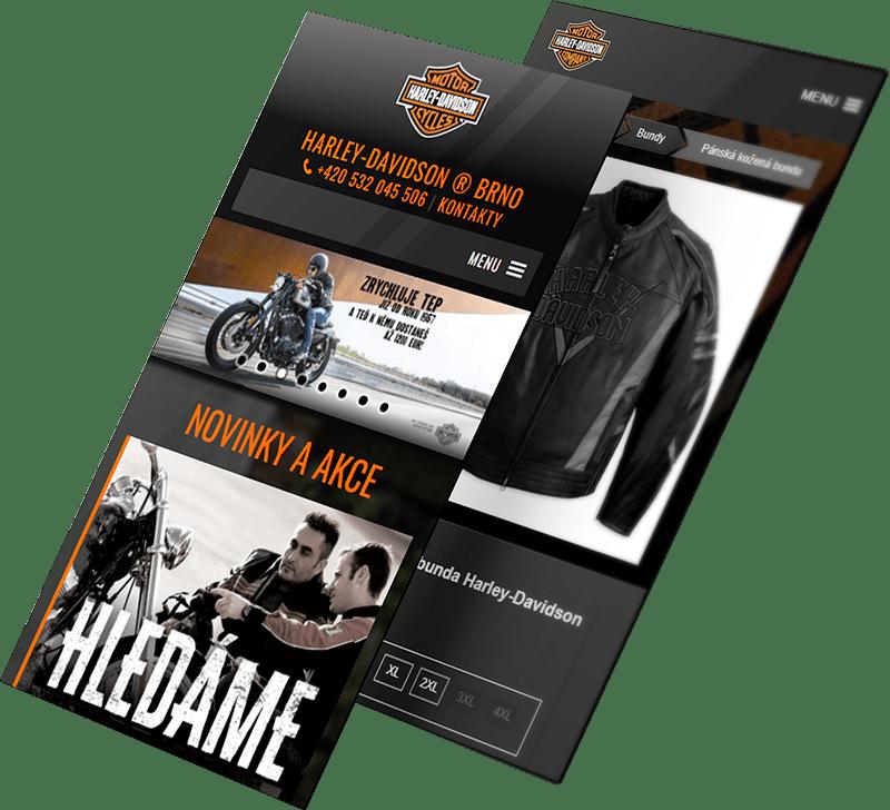 Our work - Harley-Davidson Brno